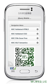 jQuery Mobile Web Development