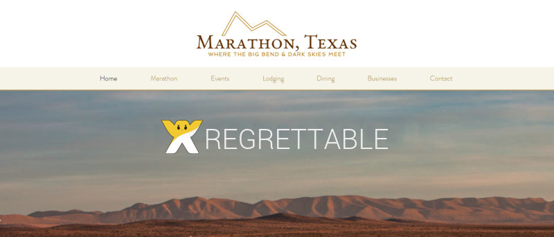 Whats not hot about the new marathon chamber of commerce website marathon tx chamber of commerce wix maxwellsz