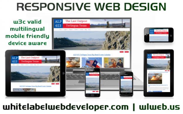 Web Development Fort Davis Texas