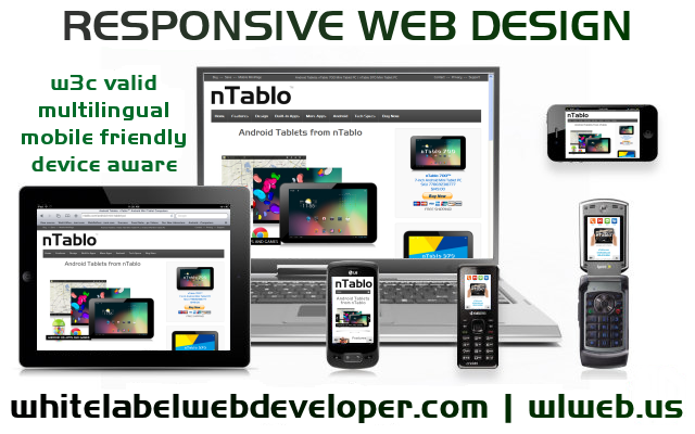web development responsive design