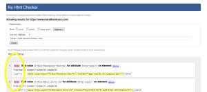 Marathon Chamber of Commerce | Wix | HTML5 Validation: Fail